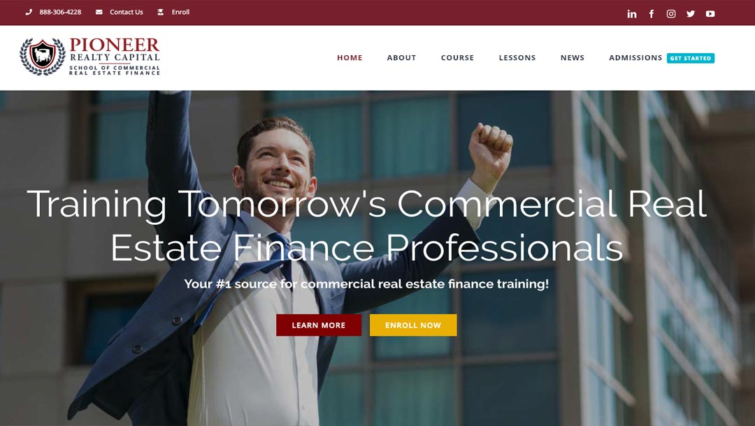 The School of Commercial Real Estate Finance www.prc-cref.school