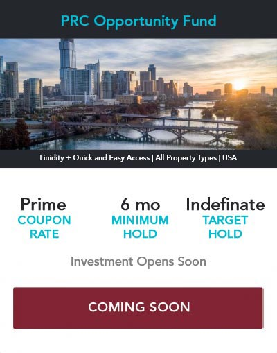 Commercial Real Estate Investment Offering PRC opportunity Fund Pioneer Realty Capital